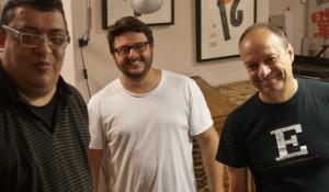 En BunkerType con… Andreu Balius, Josep Patau y Marc Salinas.
