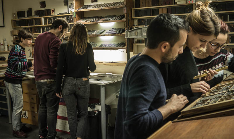 Workshop de Aranda Estudio en Bunkertype