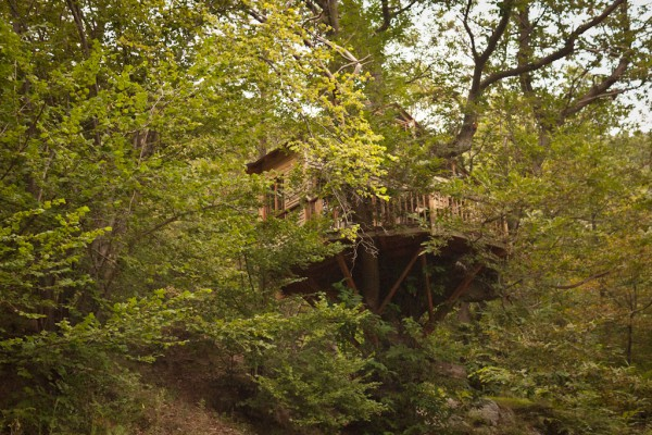 La Solane - Tree Houses and Camping, French Pyrenees