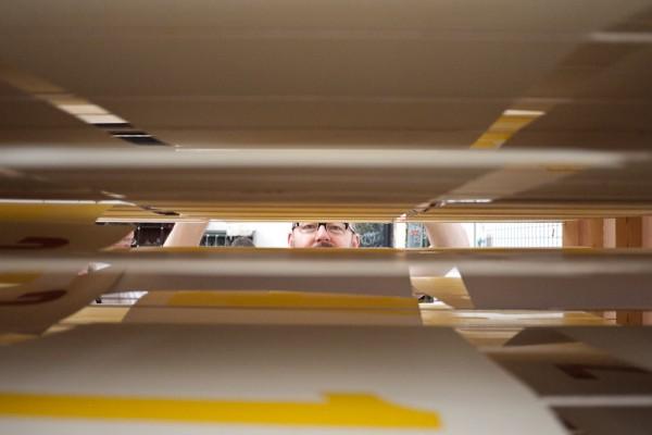 BunkerType en el Letterpress Workers. Milan 2015