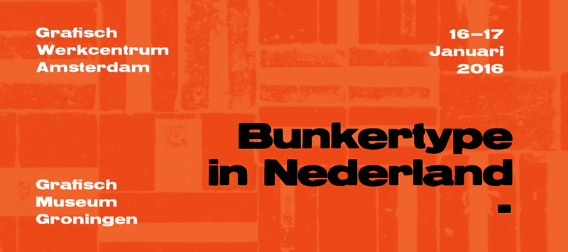 BunkerType in Holland (I): Amsterdam.